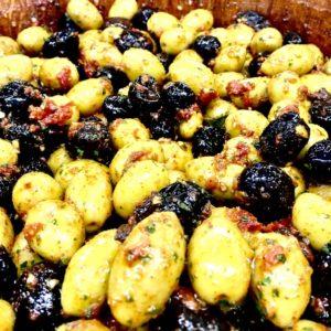 olives au pomodori