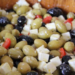 olives à la féta