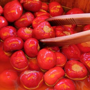 piments au thon